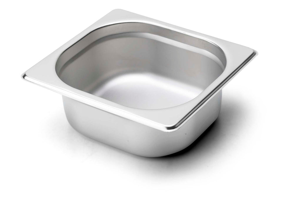 Catering Essentials Stainless Steel 1/6 Gastronorm,Gastronorm,Catering Essentials