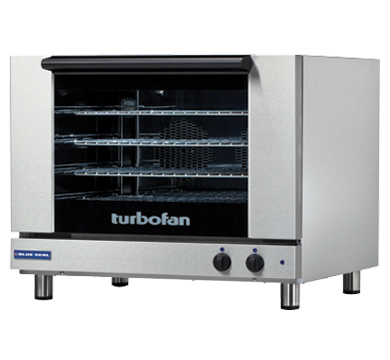 Blue Seal Turbofan E28M4 - Full Size Sheet Pan Manual Electric Convection Oven,Convection Ovens,Blue Seal