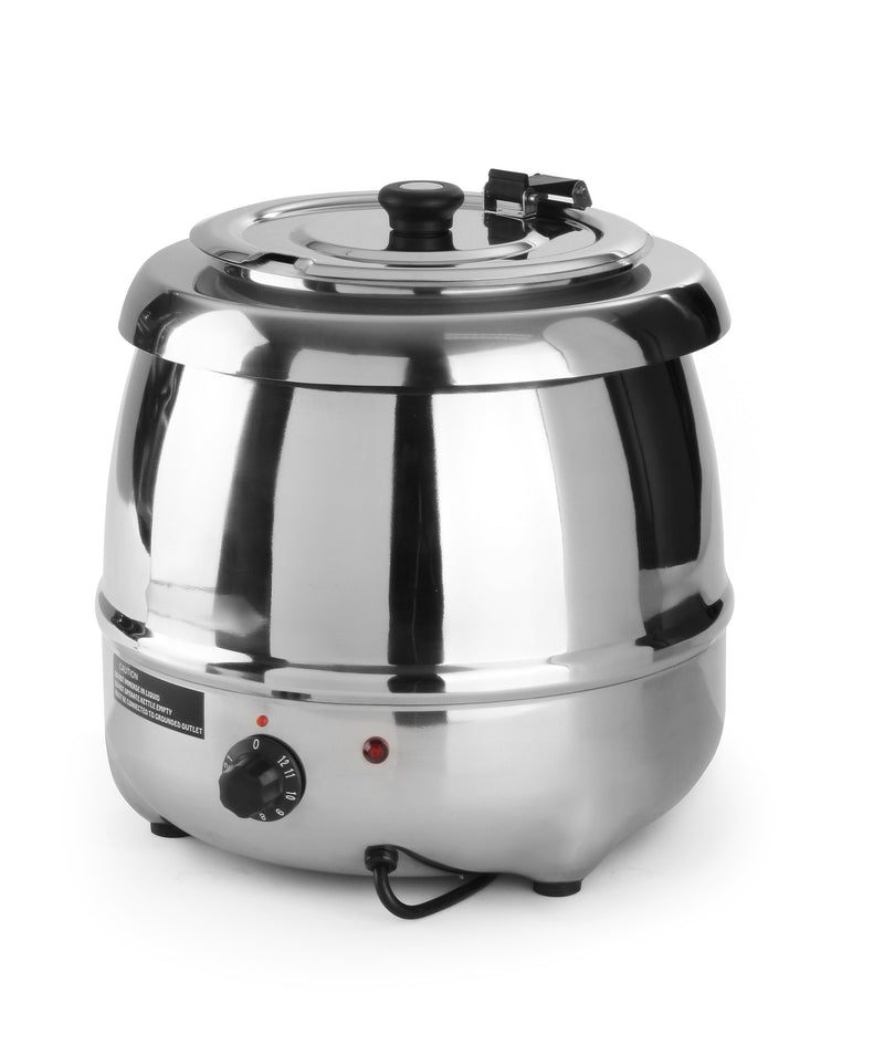 Hendi - Stainless Steel Soup Kettle - 8 Litre,Soup Kettle,Hendi