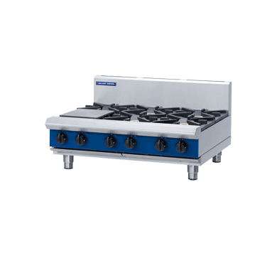 Blue Seal Evolution Series G516D-B - 900mm Gas Cooktop,Cooktops - Gas,Blue Seal