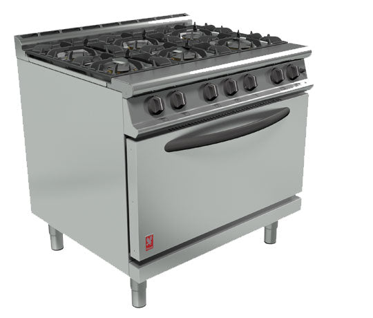 Falcon G3101D Gas Six Burner Open Top Range,Oven Ranges,Falcon