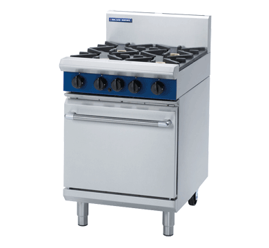 Blue Seal Evolution Series G504D - 600mm Gas Range Static Oven,Oven Ranges,Blue Seal