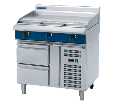 Blue Seal Evolution Series E516A-RB - 900mm Electric Griddle,Griddles - Electric,Blue Seal