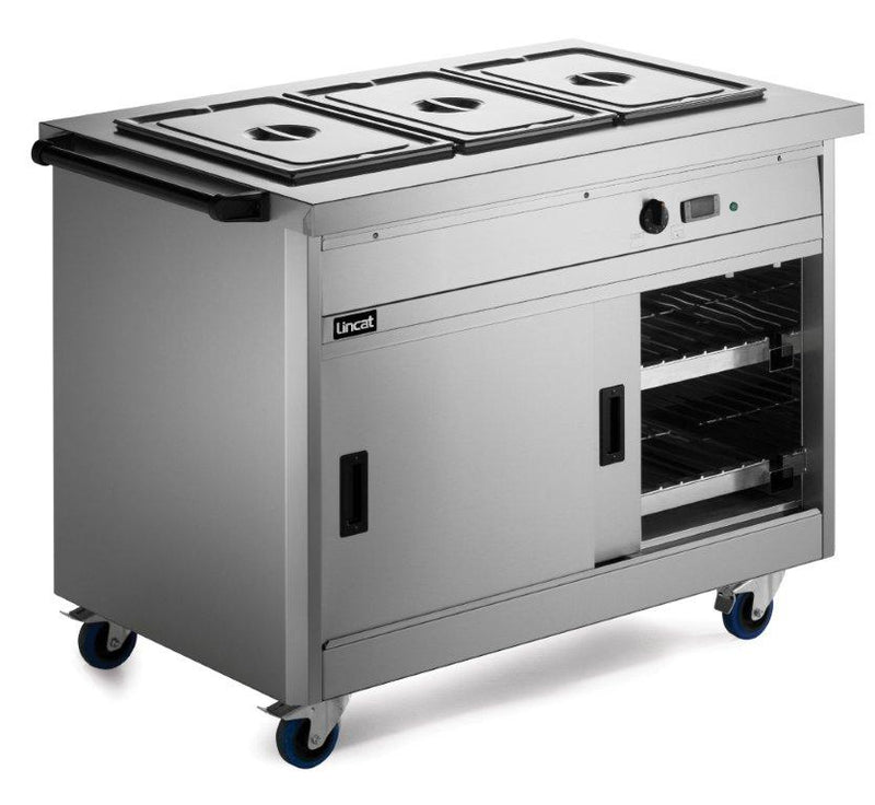 Lincat P8B3 Panther 800 Series Hot Cupboard - Bain Marie Top,Bains Maries,Lincat