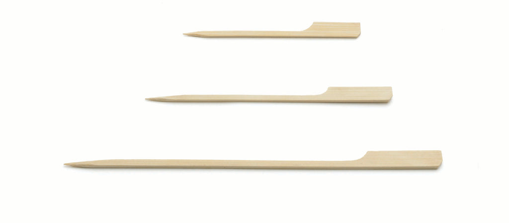 Tablecraft Bamboo Paddle Picks   (Case of 100),0,Tablecraft