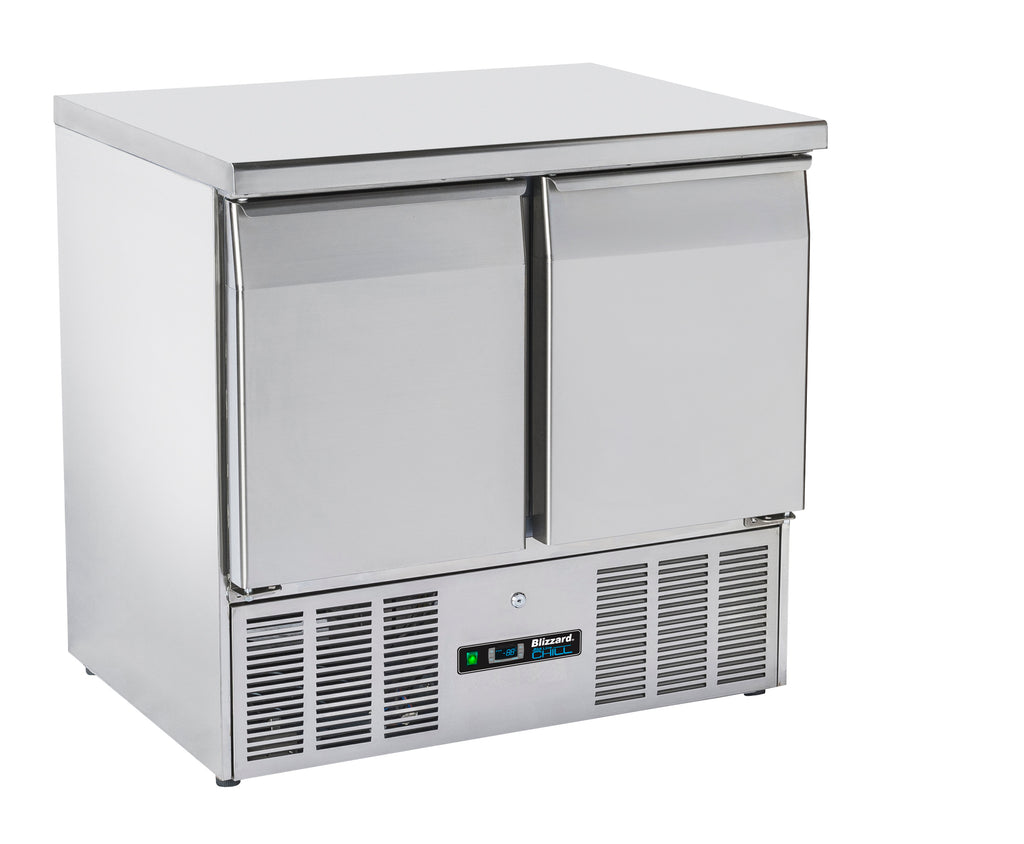 Blizzard Compact Gastronorm Refrigerated Counter - 214 Litre,Counter Refrigeration,Blizzard