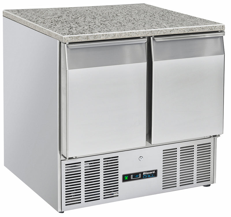 Blizzard Gastronorm Counters with Granite Worktop - 209 Litre,Counter Refrigerated,Blizzard