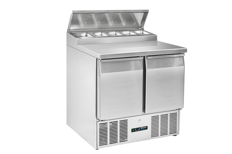 Blizzard Gastronorm Refrigerated Counter - 214 Litre,Saladette Counter,Blizzard