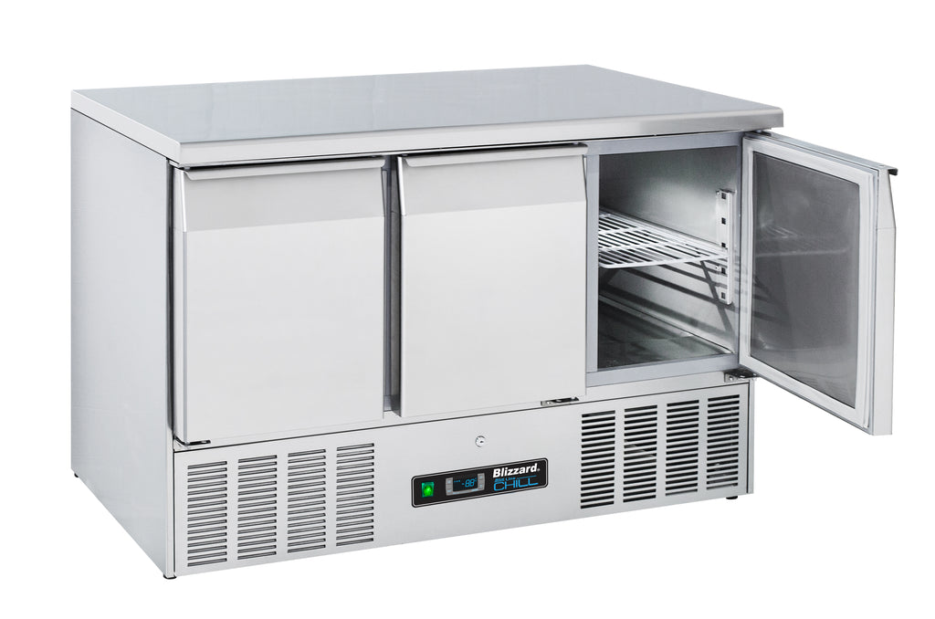 Blizzard Compact Gastronorm Refrigerated Counter - 342 Litre,Counter Refrigeration,Blizzard