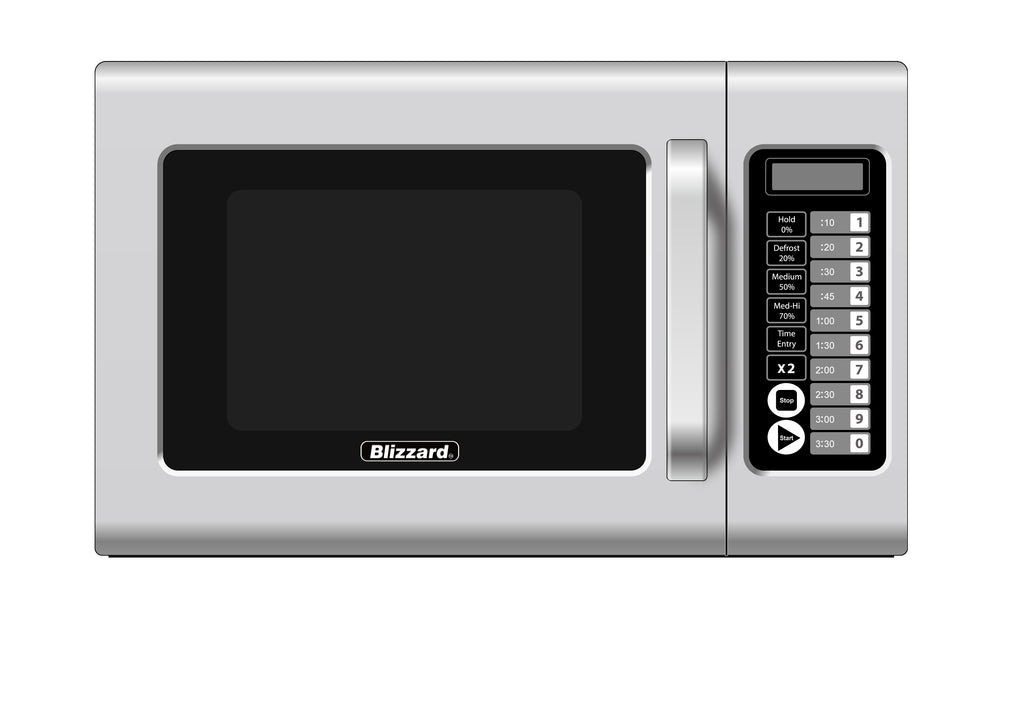 Blizzard - 1000W Light Duty Microwave,Microwave,Blizzard