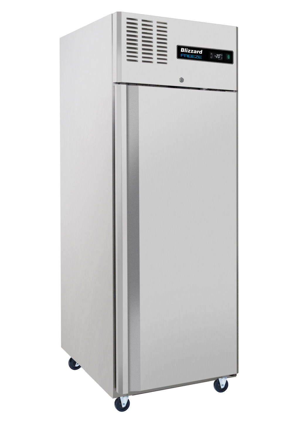 Blizzard Ventilated Gastronorm Freezer- 550 Litre Stainless Steel,Solid Door Refrigerator,Blizzard