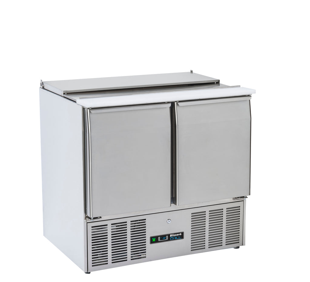 Blizzard Gastronorm Saladette Refrigerated Counter - 220 Litre,Saladette Counter,Blizzard