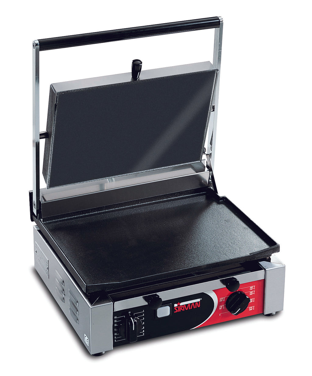 Sirman - Large Single Contact Grill  - Flat,Contact Grill,Sirman