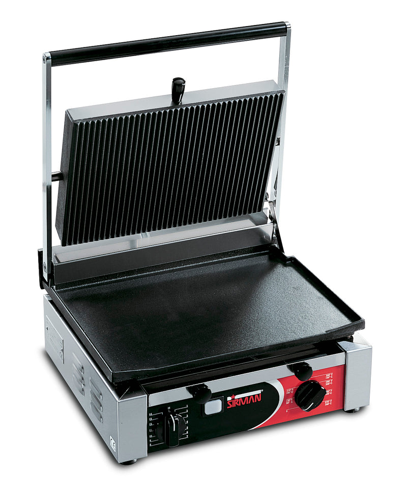 Sirman - Large Single Cort Contact Grill - Flat/Ribbed,Contact Grill,Sirman