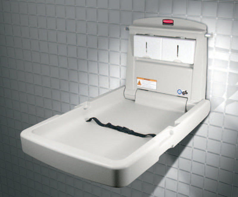 Rubbermaid - Baby Changing Station Vertical,Baby Changing,Rubbermaid