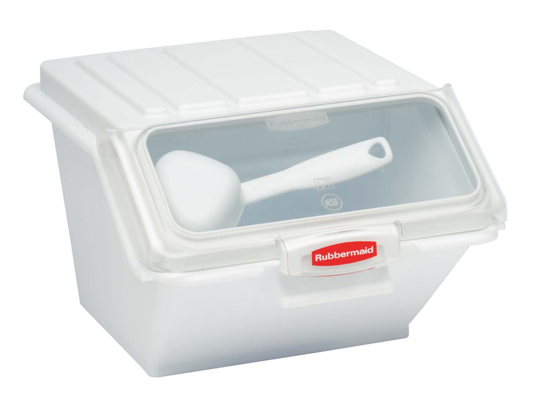 Rubbermaid Prosave Safety Storage Bin With Scoop,Food Storage,Rubbermaid