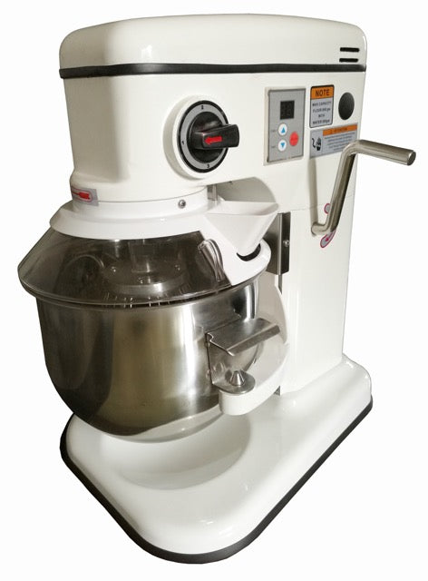 Blizzard - White Table Top Planetary Mixer - 7 Litre,Planetary Mixer,Blizzard