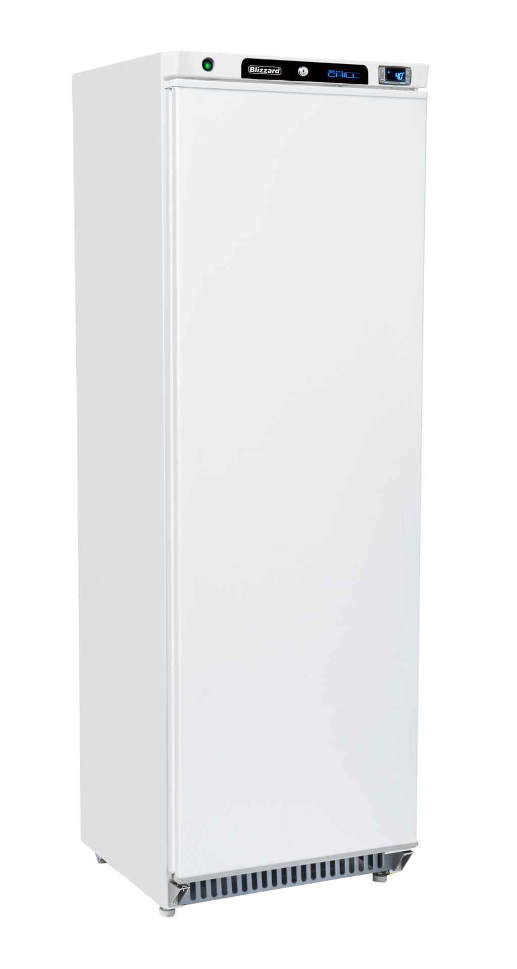 Blizzard Upright Refrigerator - 380 Litre White,Solid Door Refrigerator,Blizzard