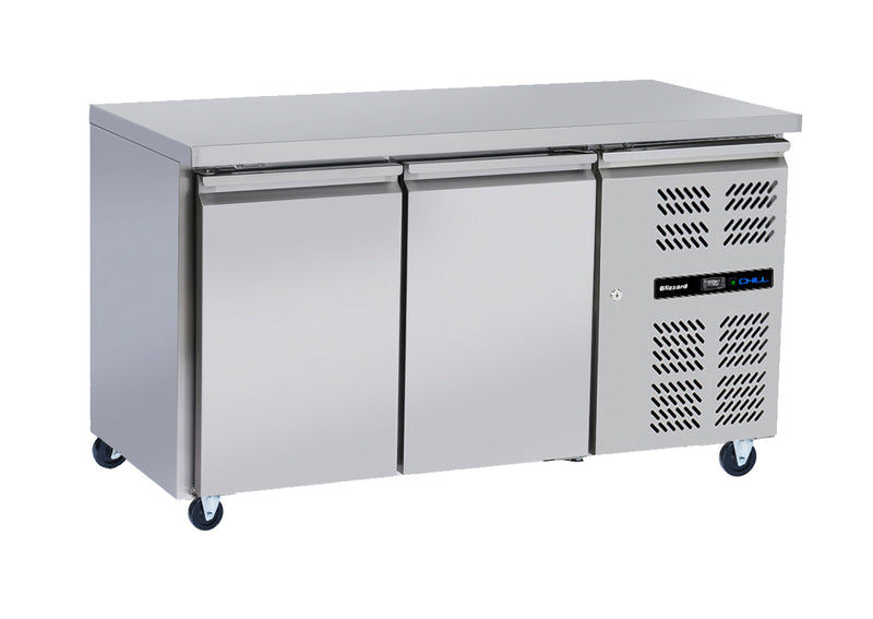 Blizzard Slim-line Refrigerated Counter - 260 Litre,Counter Refrigeration,Blizzard