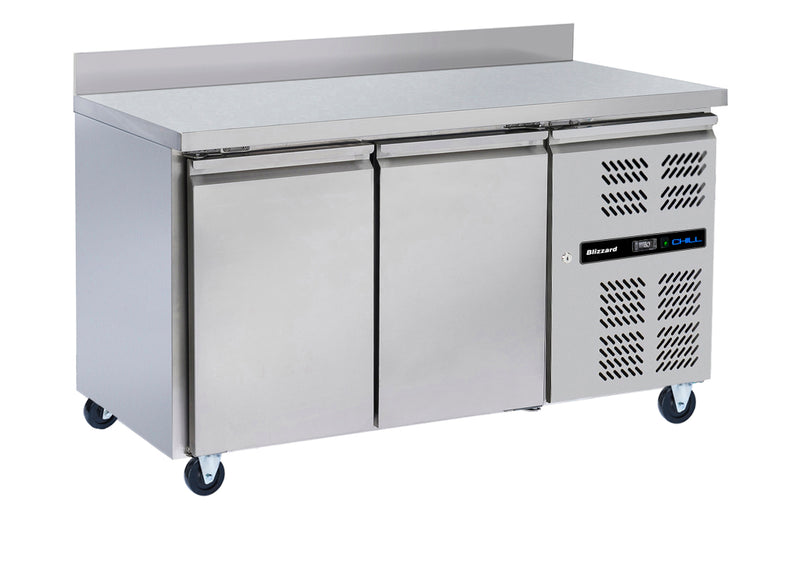 Blizzard Refrigerator Gastronorm Counter - 313 Litre,Counter Refrigeration,Blizzard