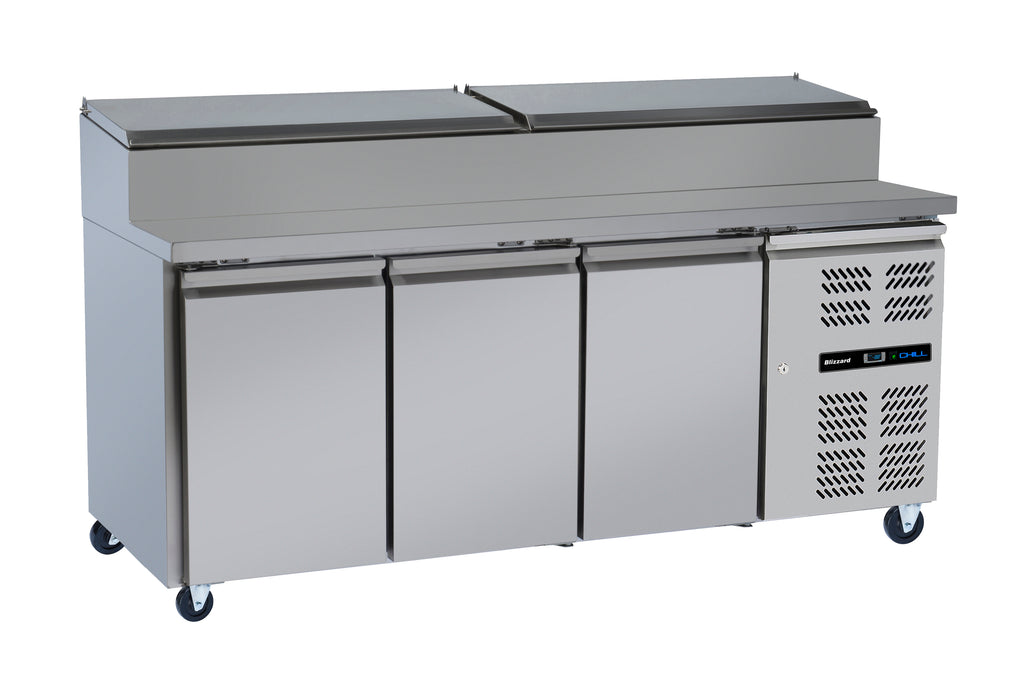 Blizzard Refrigerated Prep Counter - 417 Litre,Prep Counter,Blizzard