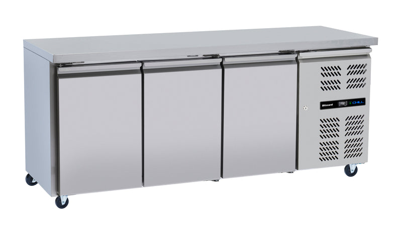 Blizzard Slim-line Refrigerated Counter - 386 Litre,Counter Refrigeration,Blizzard