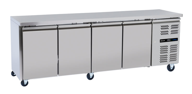 Blizzard Slim-line Refrigerated Counter - 511 Litre,Counter Refrigeration,Blizzard
