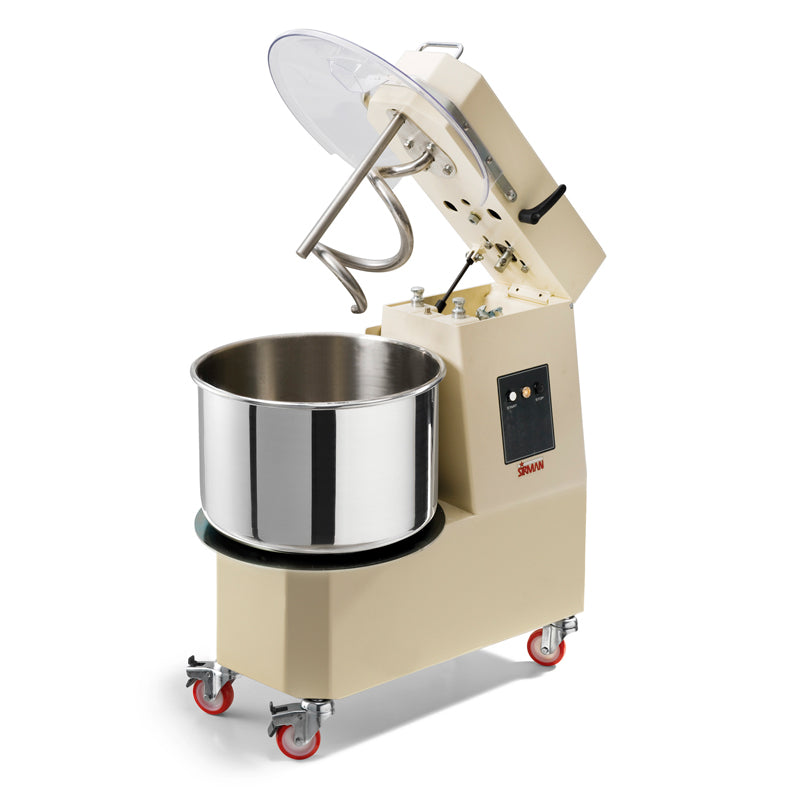 Sirman Liftable Head Dough Mixer - 21 Litre,Dough Mixer,Sirman
