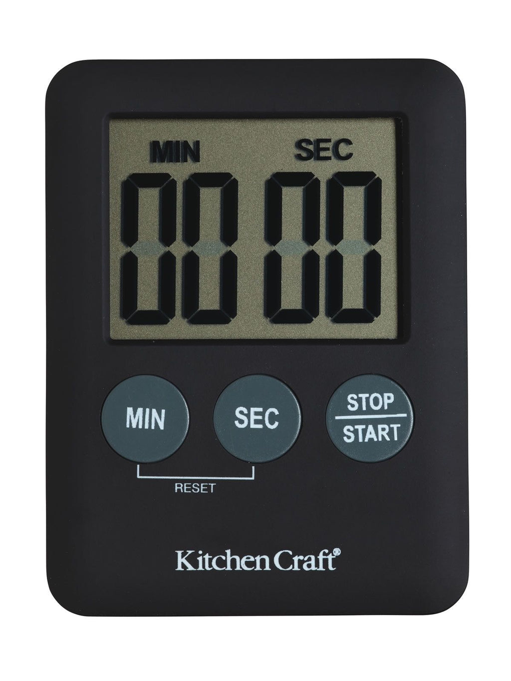 Kitchencraft Slimline Digital Timer,Timer,Kitchencraft