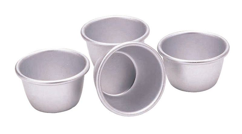 Kitchencraft Anodised Mini Pudding Moulds,Mini Pudding Moulds,Kitchencraft
