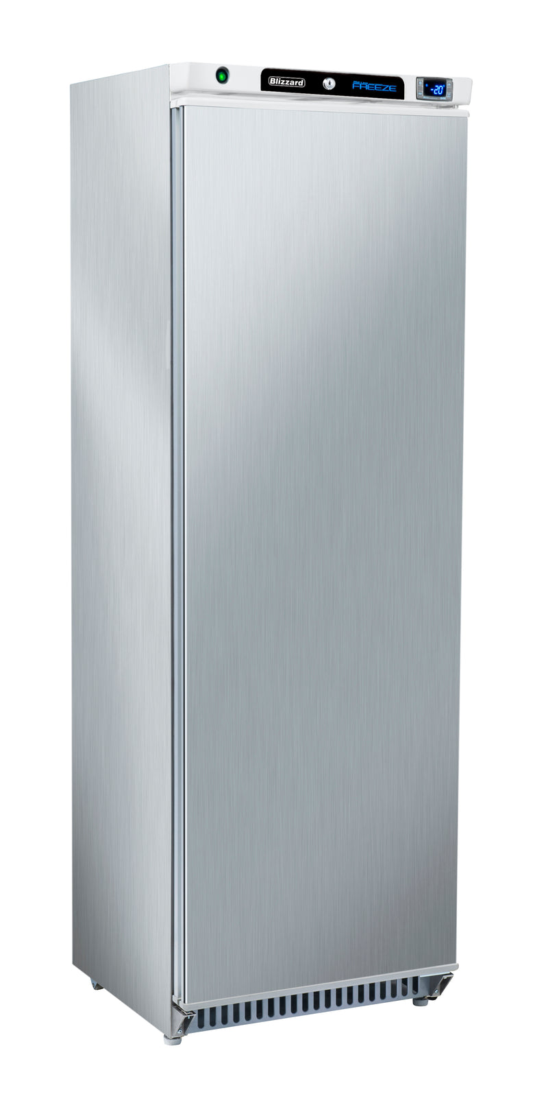 Blizzard Upright Freezer - 380 Litre Stainless Steel,Solid Door Freezer,Blizzard