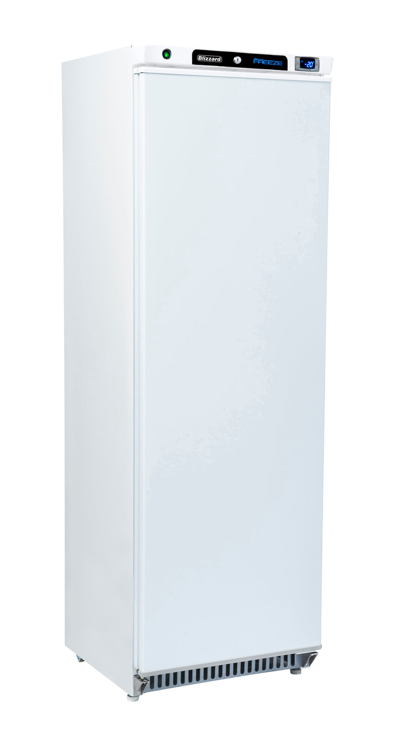 Blizzard Upright Freezer - 380 Litre White,Solid Door Freezer,Blizzard