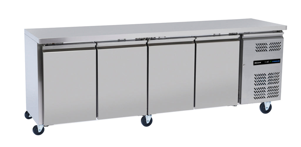 Blizzard Slim-line Freezer Counter - 511 Litre,Counter Freezer,Blizzard