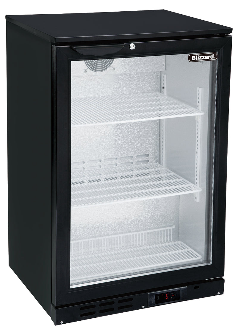 Blizzard Low Height Bar Bottle Cooler One Door,Bar Bottle Cooler,Blizzard