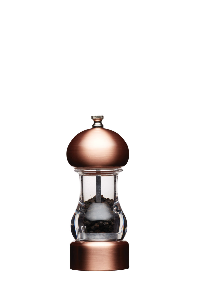 Kitchencraft Copper Effect Capstan Mills  Pepper,Salt & Pepper Mill,Kitchencraft