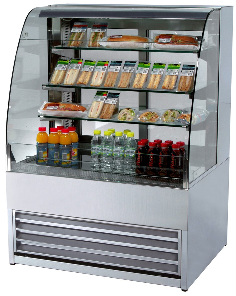 Frost Tech Self Service Merchandiser - 1000mm,Patisserie Display,Frost Tech