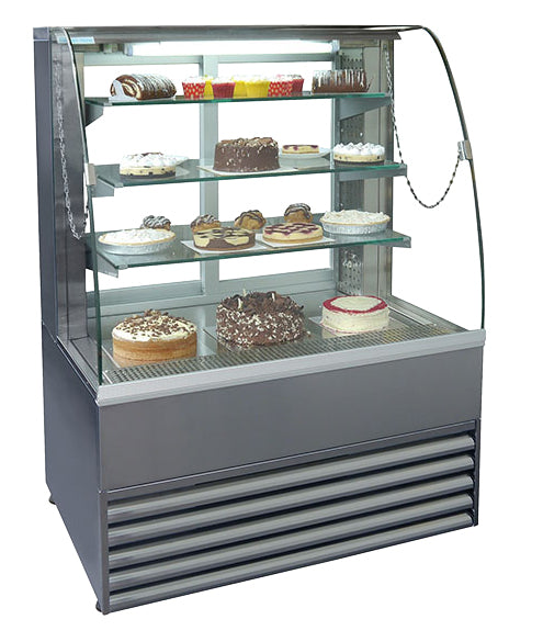 Fricon Patisserie Refrigerated Display - 1200mm,Patisserie Display,Frost Tech