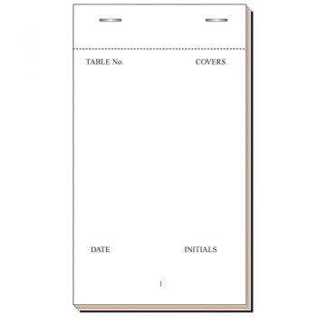 Carbonless Pads Large,Order Pads,PAD Printers LTD