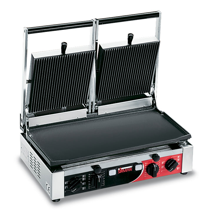 Sirman - Double Contact Grill - Flat/Ribbed,Contact Grill,Sirman