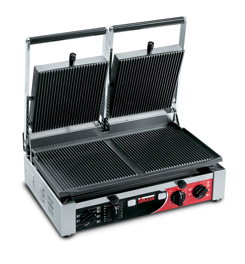 Sirman - Double Contact Grill - Ribbed,Contact Grill,Sirman