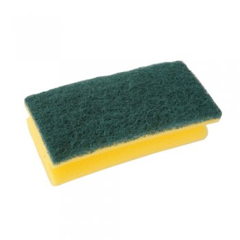 3M - Easy Grip General Cleaning & Wiping Sponge Scourer 70 x 150mm (Case of 50),Scourers,3M