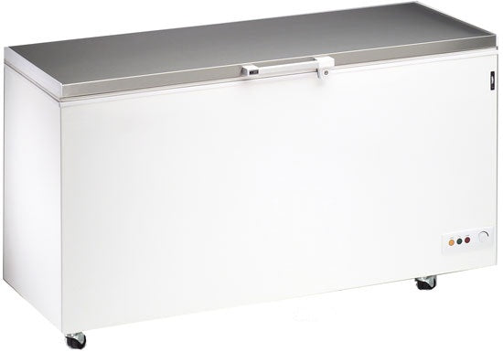 Blizzard Stainless Steel Lid Chest Freezer - 492 Litre,Chest Freezer,Blizzard