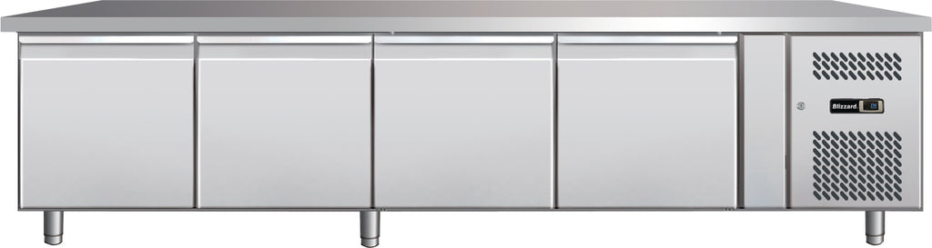 Blizzard Low Hight Snack Refrigerated Counter - 337 Litre,Counter Refrigeration,Blizzard