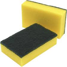 Catering Essentials - Sponge Scourer 15x10cm (Case of 450),Scourers,Catering Essentials