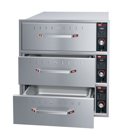 Hatco HDW-3BN Built-in Narrow Three Drawer Warmer 714W x 568D x 248H (mm) 3kW,Drawer Warmers,Hatco