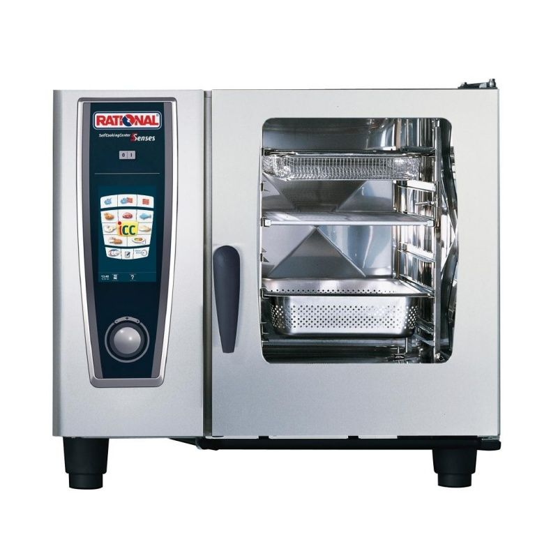 Rational 6 Grid Self Cooking Center 1/1GN Electric Combination Oven,Self Cooking Center,Rational