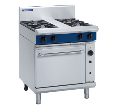 Blue Seal Evolution Series G54D - 750mm Gas Range Convection Oven,Oven Ranges,Blue Seal