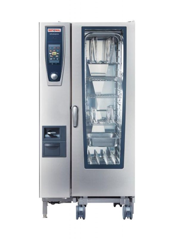 Rational  20 Grid Self Cooking Center 1/1GN Natural Gas Combination Oven,Self Cooking Center,Rational