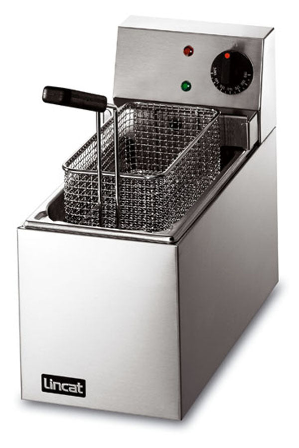 Lincat LSF Electric Slimline Fryer (Counter Top) Single tank,Fryers - Electric,Lincat