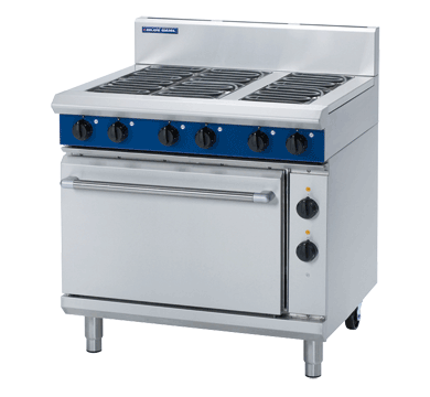 Blue Seal Evolution Series E506D - 900mm Electric Range Static Oven,Oven Ranges,Blue Seal